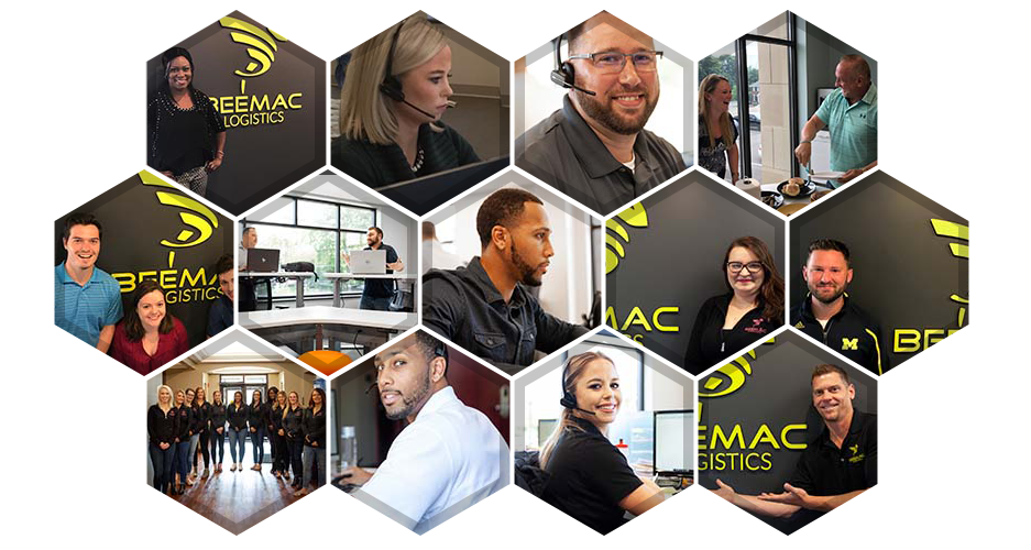 the beemac logistics team